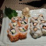 California roll and shrimp tempura roll
