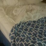 this is what your bed will look like after 15hours in DC