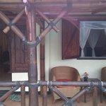 our verandah Villa Sumbing Indah