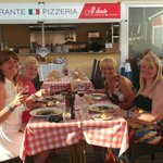 Dining in the Italian Restaurant at the Hotel Marina Torrenova