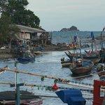 Fishermen heading to Sea - Khao Takiab - Another night