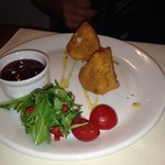 Fried cheese starter