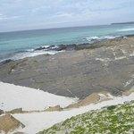 Westray Grobust beach pavement