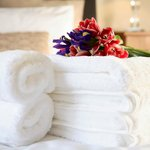 Fresh towels and linen every week
