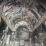 Old frescos are wonderful, if marred by graffiti.
