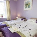 Room 9 superior ground floor with superking or twin beds