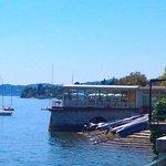 hotel visto dal lago