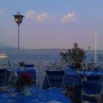 terrazza del ristorante dell'hotel