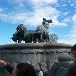 la fontana di Gefion