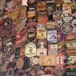 Just a few beer mats on display