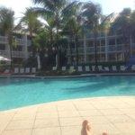 Good medium sized pool area