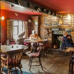 The Crown, Little Walden, bar seating