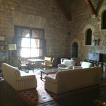 Place to relax inside the parador