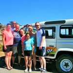 Geordie family on safari - photo by Brian!!
