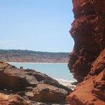 Praia deserta e linda