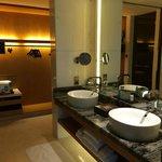 bathroom in the beach suite
