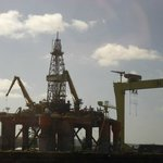 Harland and Wolff - drill platform