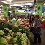 Lots of fresh fruit & veg!