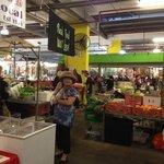 More stalls inside