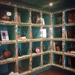 Sparkly bookcase