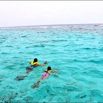 Snorkeling with my daughter