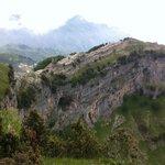 Il Castello di Scala visto dal belvedere Mustaculo