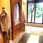 Most amazing bathroom & robes ever! Seriously, the robes. I fell in love