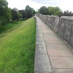 The path along the York Walls