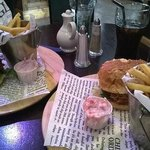 """Burgers"" with no burger"