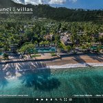Take the 360° TOUR of Qunci Villas on the web site
