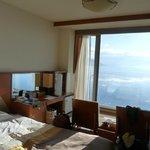 サロマ湖を望む部屋