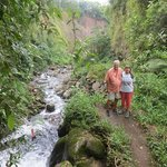 On one of the tours with Moty to the waterfalls.