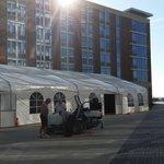 3000 Sq. Ft. Waterfront Veranda Tent