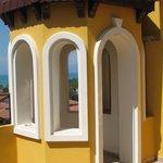 башенка на балконе