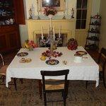 Elk Lick House Formal Dining Room