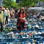 Flea Market at Jeu de Balle