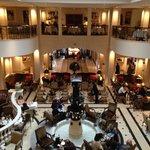 Hotel Adlon lobby interior