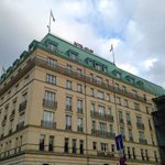exterior of hotel Adlon
