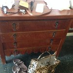 old and dated furniture