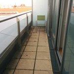 narrow balcony