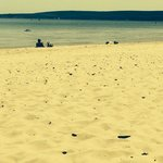 Sandbanks beach on a beautiful sunny day