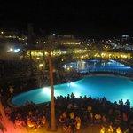 A night event, main pool, main bldg