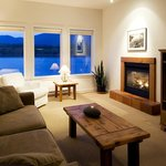Stunning vistas from Living Room with Fireplace