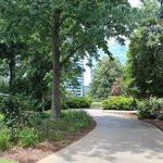 landscaped grounds, South Carolina State House, June 2014