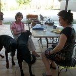 Avec Béatrice, Eliott et Armstrong