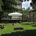 Giardino della residenza di via Piccardi