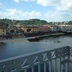 Balcony with Arno view