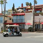 drive your cart to this ristorante