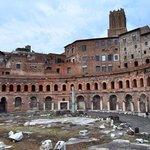 Trajan's market ruins.