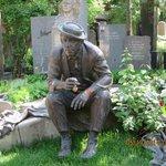 Novodevichy cemetery tombstone